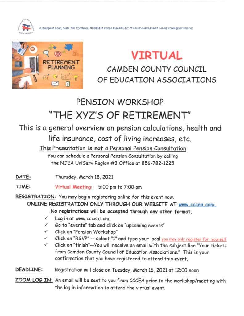 Pension Workshop 2